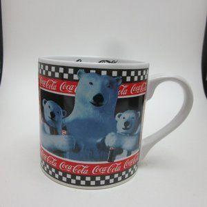 Coca Cola polar bear mug